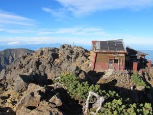 赤岳頂上小屋2